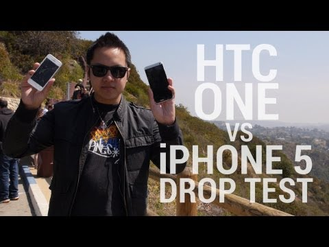 Drop-Test: HTC One und Apple iPhone 5 im Falltest