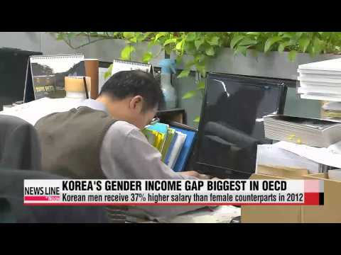 Korea's gender wage gap remains biggest in OECD for over 10 years