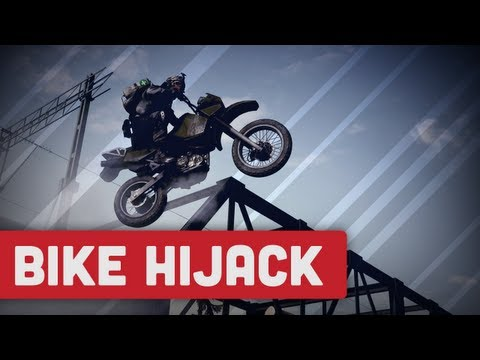 Epic Dirt Bike Hijack - Bf3 End Game