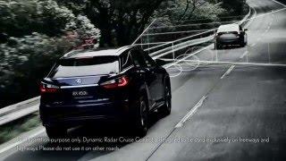 Lexus Safety System+ on the 2017 Lexus RX