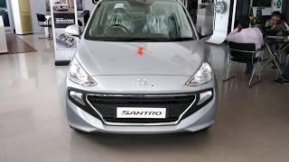 Hyundai Santro 2019  DETAILED FULL REVIEW - Interior, Exterior, Features, Price, Engine | HINDI |
