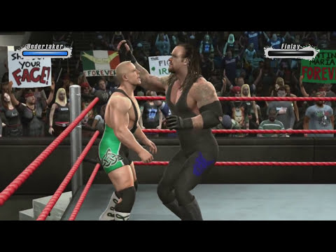 WWE Smackdown vs Raw 2009 UNDERTAKER PART 1 ROAD TO WRESTLEMANIA