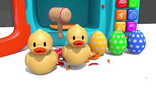 Learn Colors with Bunny Mold and Gumball Machine Animals Finger Family Song for Kids Children   YouT