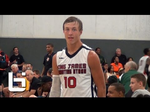 2-sport HS star Luke Kennard Official Ballislife Mixtape (Franklin, Ohio 2015)