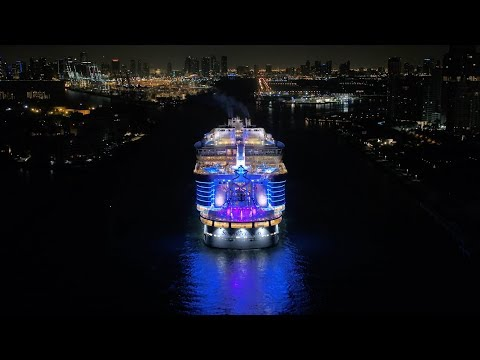Symphony of the Seas arrives home to Miami