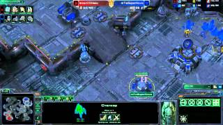 IEM Gamescom Day 3 Group D: SuperNova vs HasuObs Game 2 - [Starcraft II]