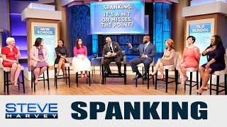 Parenting Panel: To Spank or not to Spank || STEVE HARVEY