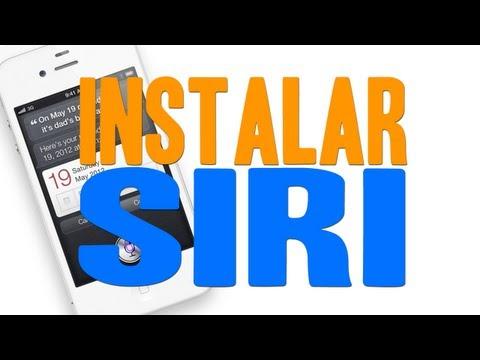INSTALAR SIRI EN EL IPOD TOUCH 4G 3G IPHONE 4 3GS & IPAD
