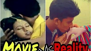 Hart touching love story | movie vs reality | new funny video | proposal video 2017 pangsha