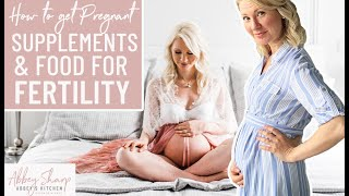 Diet Tips for Getting PREGNANT | Food, Supplements, Diet Patterns and Lifestyle