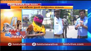 42 Degrees Temperature In Warangal | Traffic CI Face To Face With hmtv