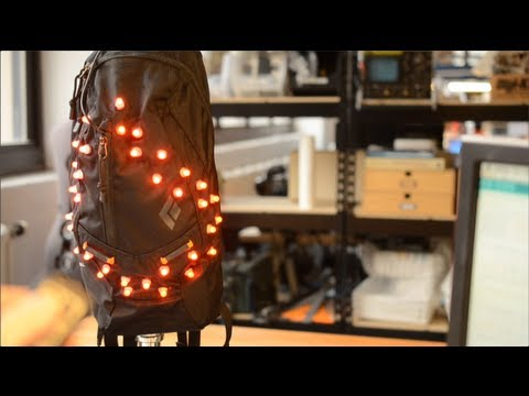 Flora Brake Light Backpack