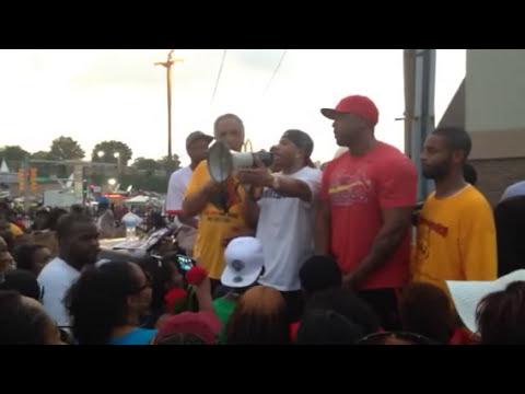 Nelly in Ferguson