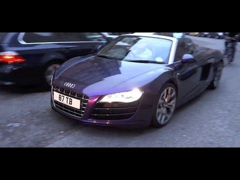Audi R8 Spyder Trunk