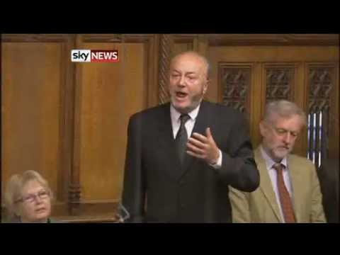 George Galloway's Return To Prime Minister's Questions