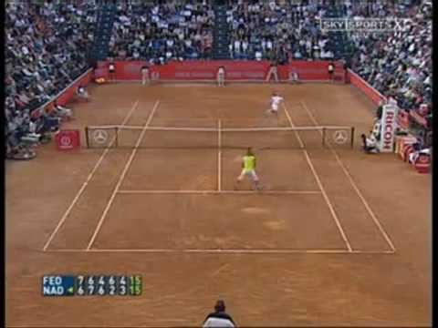 Best Tennis Rallys of Federer vs Nadal Video