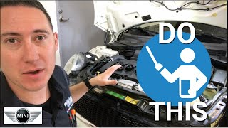 How to Correctly Check Oil Level on Your MINI COOPER