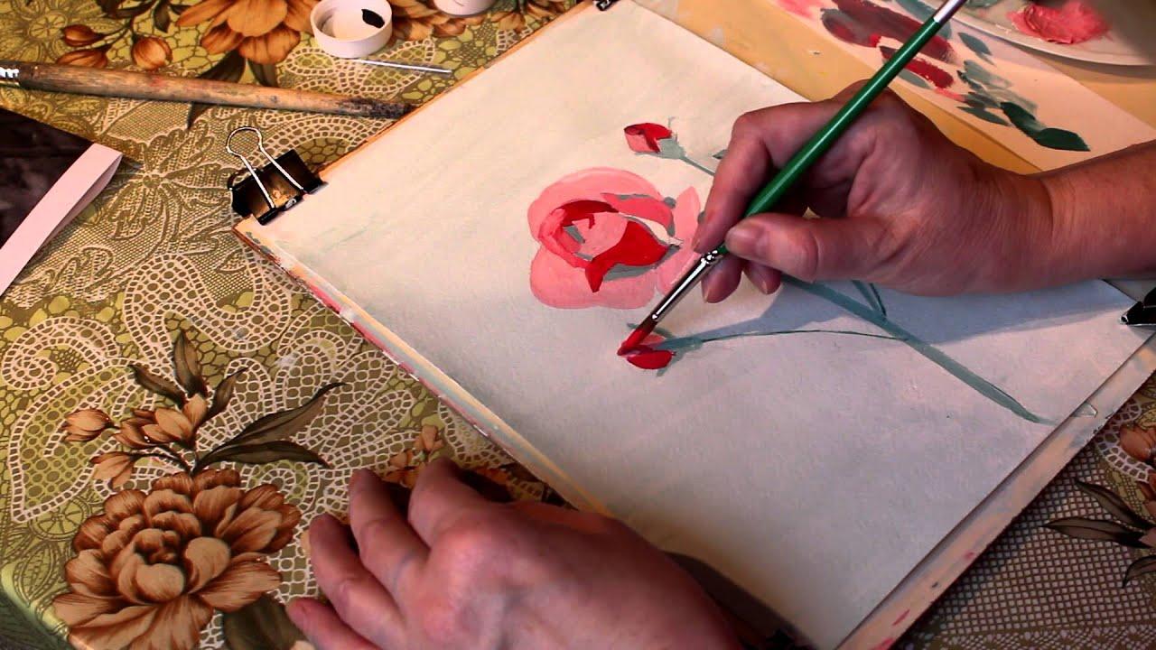 видео в стиле рисунка карандашом