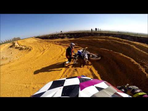 Gopro Mx Land, Petite Chute video
