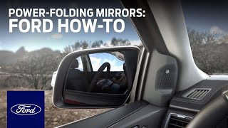 Resynchronizing Your Power-Folding Mirrors | Ford How-To | Ford