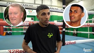 """FRANK WARREN TOOK PRINCE NASEEM ALL THE WAY."" 