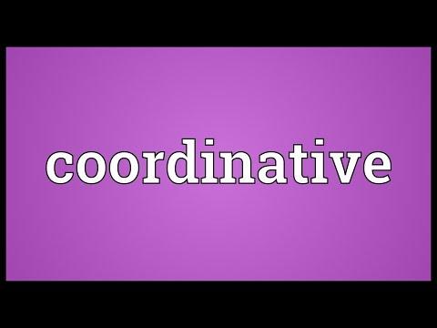 Header of coordinative