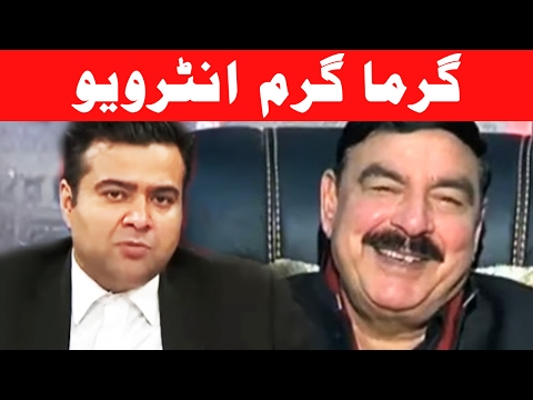 Sheikh Rasheed's Best Interview - On The Front with Kamran Shahid - 9 February 2017 - Dunya News