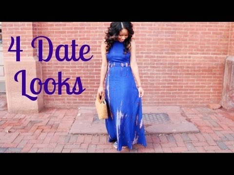4 DATE OUTFIT IDEAS! :: Dinner, Movies, Festival, Picnic
