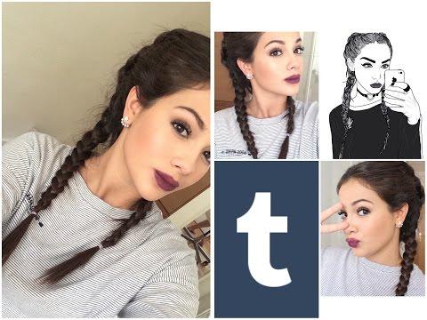 Grunge makeup tutorial tumblr