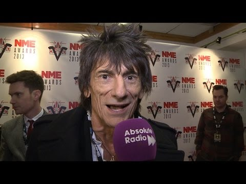 NME Awards 2013: Ronnie Wood Interview