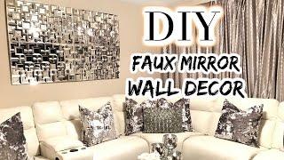 (7.47 MB) DOLLAR TREE DIY Faux Mirror | THE BEST DIY Home Decor/Wedding 2017 Mp3