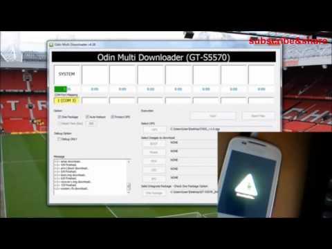 How to flash galaxy mini  gt s5570 repair boot loop
