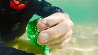 LJR #28 Underwater Metal Detecting amazing Old Gold diamond Ring