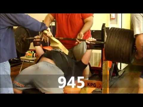 Henry Thomason 308 - Powerlifting Bench & Squat Training 9/15/12 - 2w out- USPA Mr Olympia 2012 Image 1