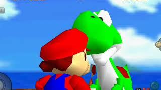 Super Mario 64 Unlock Luigi Fake