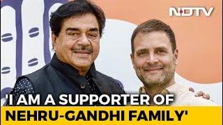 """""""I'm A Supporter of Nehru-Gandhis"""": Shatrughan Sinha Heads To Congress"""