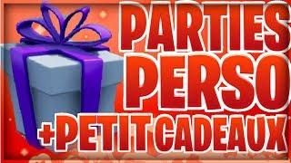 LIVE FORTNITE FR partie personnalisée 🔴 TOP 1 = CADEAUX-SKIN-PASS EN *PARTIE PERSO FR