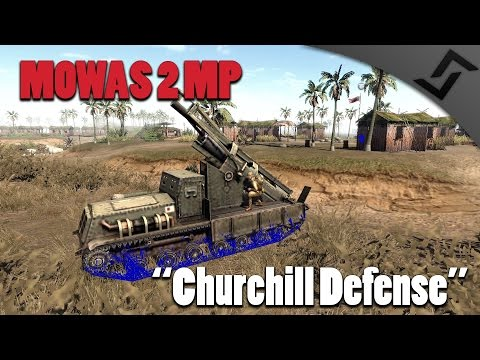 Men of War: Assault Squad 2 - Churchill Defense - MP Gameplay