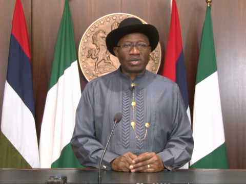 President Goodluck Jonathan's  2014 Democracy Day Broadcast