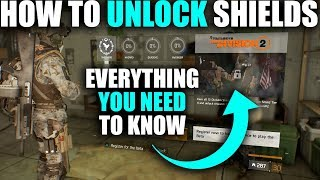 HEAD START ON THE DIVISION 2 | HOW TO UNLOCK SHIELDS & REWARDS EVERYTHING YOU NEED TO KNOW