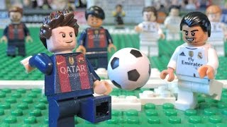 Messi vs Ronaldo - MESSI RAGE - LEGO Brick Film Parody