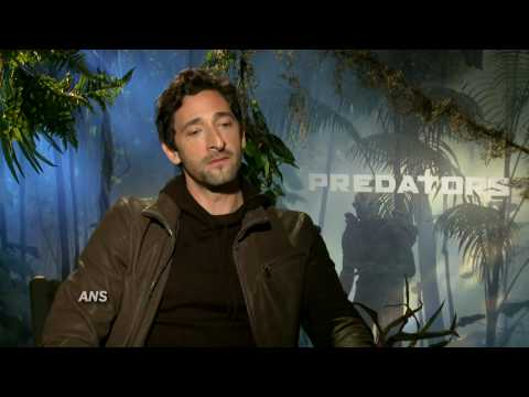 ADRIEN BRODY CONVINCING FOR ROYCE IN PREDATORS