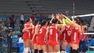 28-09-2014: L'ultimo punto di Cina-Giappone 3-2