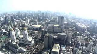 Baiyonk Tower 2 Panorama of Bangkok (Thailand)
