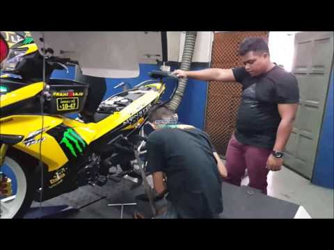 Yamaha Y15ZR ApiTech ECU Dyno Tuning - Motodynamics Technology Malaysia