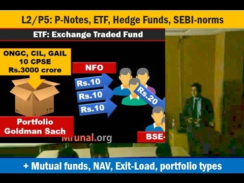 L2/P5: P-Notes, ETF, Hedge Funds, Mutual funds, Alternative Investment Funds
