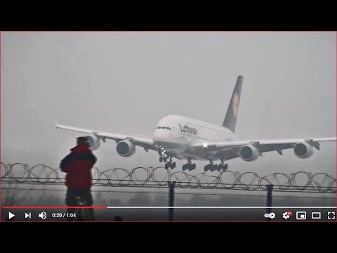 Airbus A380 W Warszawie - Pierwsze Lądowanie W Polsce! [HD]