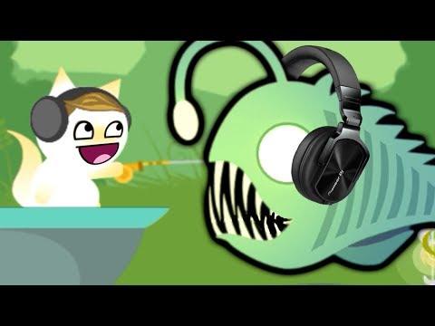 КОТЕНОК РЫБОЛОВ САМАЯ КРУТАЯ СЕРИЯ симулятор маленького котенка рыболова детский летсплей от #фгтв