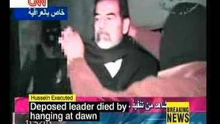 CNN - Saddam Hussein - Hanging - Death Penalty