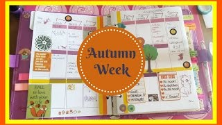 Plan with me ★  Autumn week ★